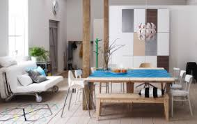 Home Design Ideas Small Space Living Mastering Minimalism In - Dining room ideas ikea