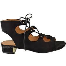 Comfortable Wedge Shoes New Womens Ladies Low Heel Wedge Summer Sandals Tie Up Comfort