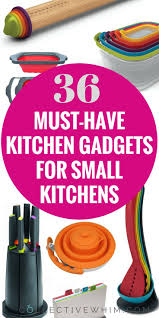 36 must have kitchen gadgets for small kitchens