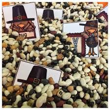 thanksgiving sensory table ideas bountiful blessings of beans and more differentiated kindergarten