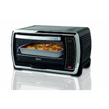 Hamilton Beach Set Forget Toaster Oven With Convection Cooking Oster Large Capacity Countertop 6 Slice Digital Convection Toaster
