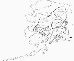 Tanana Alaska Map by Athabascan Winter Studies Ane Kindergarten Unit