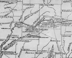 Map Of Marion Ohio by Native Americans