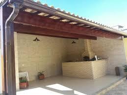 Popular telhado colonial e churrasqueira com banca [ OFERTAS ] | Vazlon Brasil #GB45