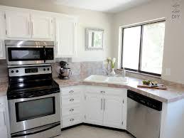 Space Saving Kitchen Designs Corner Sink Kitchen For Space Saving Ideas And Efficient