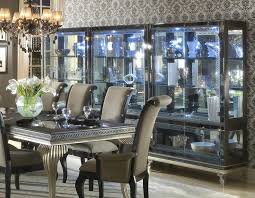 Silver Dining Room Black And Silver Dining Room Set Inspiring Nifty Black And Silver
