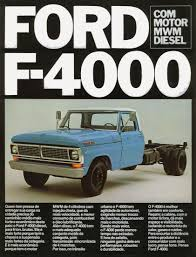 Vintage Ford Truck Brochures - ford f 4000 brochure