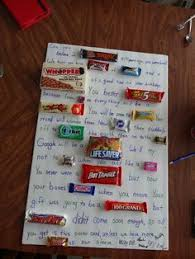 50th birthday candy poster board so cute and easy party ideas