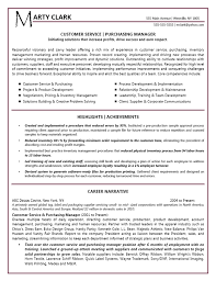 exles on resumes customer service manager resume exle