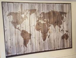 Canvas Map Of The World by Ikea