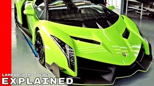 future lamborghini veneno lamborghini veneno explained youtube
