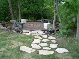 Flagstone Walkway Design Ideas by Firepits Dublin Pavers With Iowa Buff Flagstone Pathway To