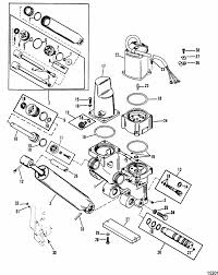 mercury marine 115 hp 4 cylinder power trim components three