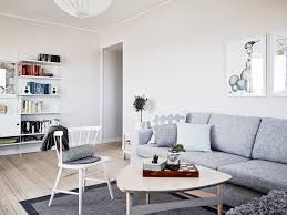 Scandinavian Home Interior Design by Home In Soft Colors Shelving Living Rooms And Room