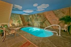 gatlinburg cabins with indoor pools for rent elk springs resort