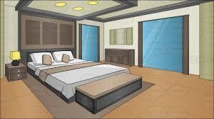 cartoon living room background interior design for int fancy apartment living room night episode