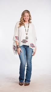 aztec beaded western blouse for cowgirls available in plus sizes