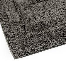 tappeti da bagno tappeto bagno antiscivolo in ciniglia sirio parure 3 pezzi