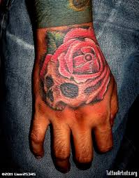 skull rose tattoo tattoo collections