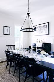 Black And White Dining Room by Dinner Party Spotlight Clea Of The Home Edit Fashionable