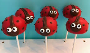 ladybug cake pops cookies cake pops fluffy thoughts cakes mclean va and