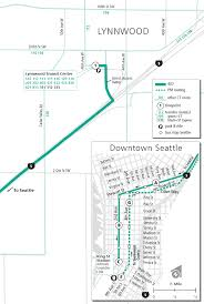 Seattle Street Map by Schedules