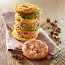 recette de cuisine cookies recette cookies moelleux colorés facile francine recette de