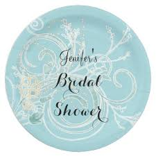 bridal shower plate bridal shower plate bridal showers winter weddings and winter