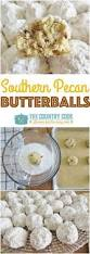 holiday recipes pecan cookie balls if you roll them lon ways