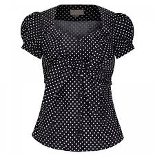 black polka dot blouse barbara black polka dot blouse