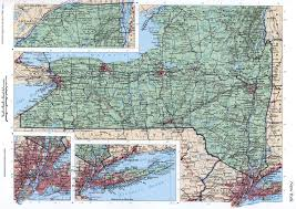 Ny State Road Map by New York State Mapfree Maps Of Us