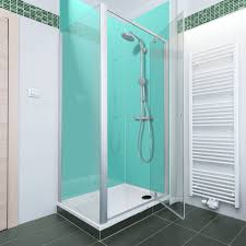 home decor acrylic shower walls panels frosted glass bathroom