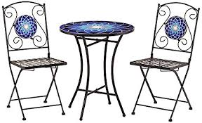 Mosaic Bistro Table Incredible Mosaic Bistro Table Set Mosaic Bistro Table Solid