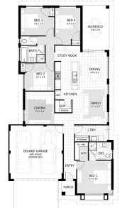 house plan search marvellous narrow lot 4 bedroom house plans gallery best