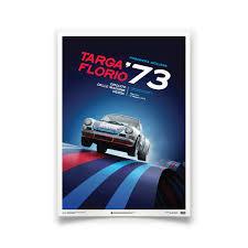 porsche 911 poster porsche 911 rsr poster targa florio 1973 automobilist
