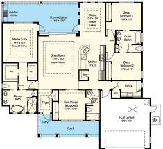 Energy Smart House Plan With Options ZR Architectural - Smart home design plans