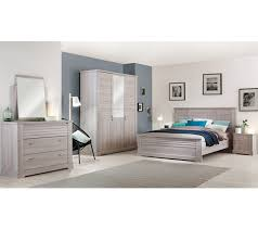 but chambre armoire 3 portes thelma imitation chêne cérusé dressings but