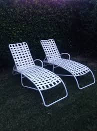 Brown Jordan Patio Set by Vintage Brown Jordan Chaises As Part Of A Set Including 4 Chairs