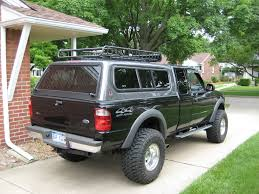 Ford Ranger Truck Rack - yakima roof rack mounted on the topper pics ranger forums