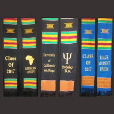 personalized graduation stoles personalized kente stole graduation stoles