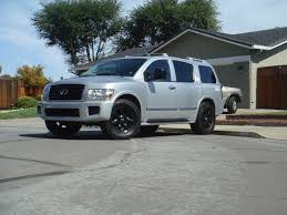 nissan armada on 26 inch rims more pictures of my monster qx 56k beware nissan armada forum
