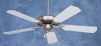 Emerson Ceiling Fans by Emerson Builder Ceiling Fan Cf700bsw In Brushed Steel Guaranteed