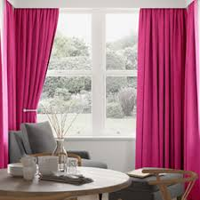 Fuchsia Pink Curtains Made To Measures From 247curtains