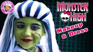 Halloween Monster High Makeup by
