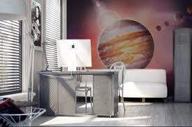 chambre tapisserie deco papier peint design moderne et original izoa