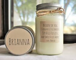 personalize candles personalized candles etsy