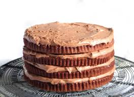 chocolate mousse layer cake recipe great british chefs