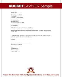 standard resignation letter template printable resignation letter