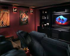 Home Movie Theater Decor Ideas by Home Theatre Room Love The Set Up I Would Have A Big Sofa In The