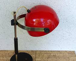 Red Desk Lamp by Red Desk Lamp Etsy